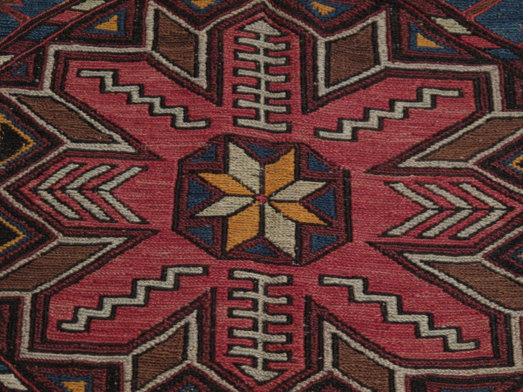 Mid-20th Century Sumak Carpet For Sale