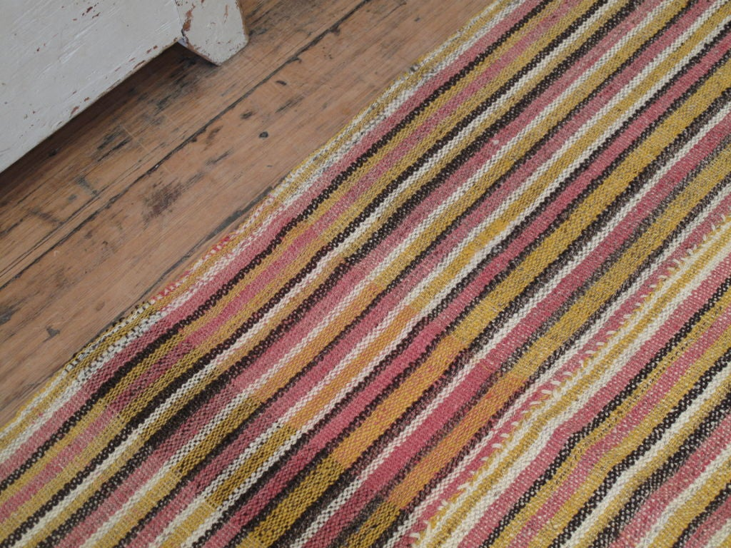 Striped Jajim Flatweave For Sale At 1stdibs
