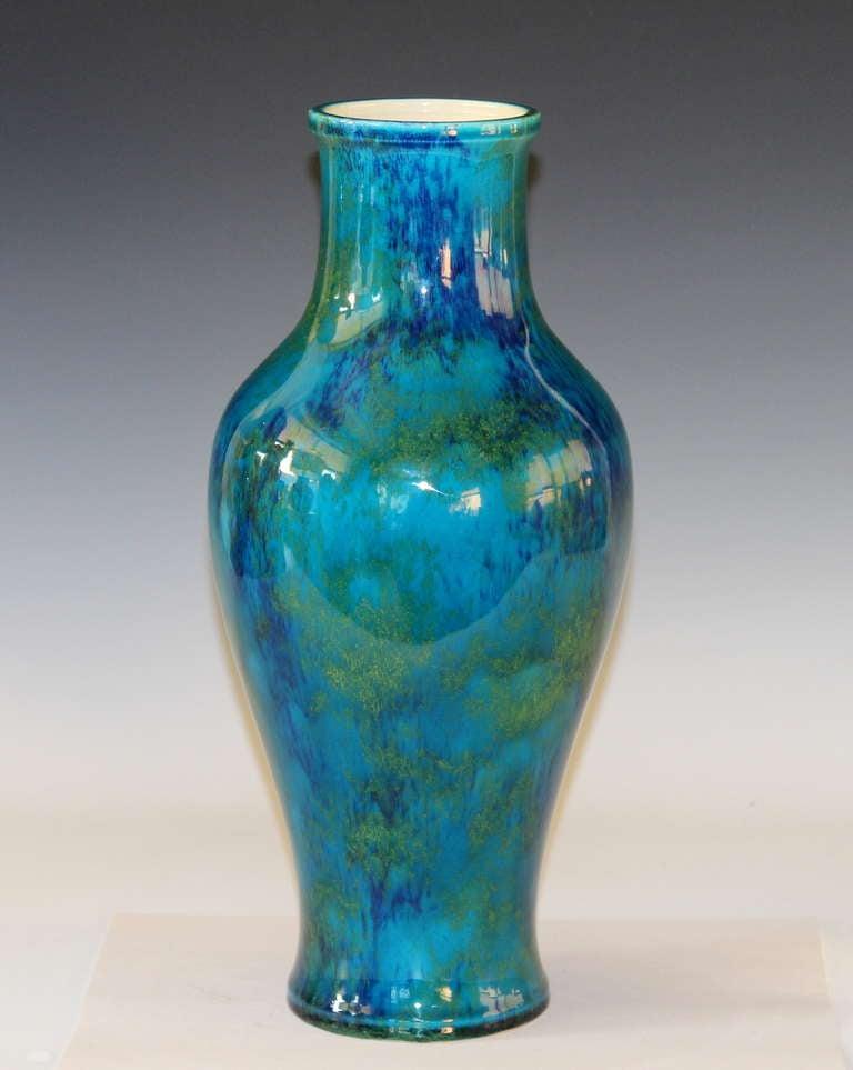 1920 39 s paul milet french art deco vase at 1stdibs. Black Bedroom Furniture Sets. Home Design Ideas