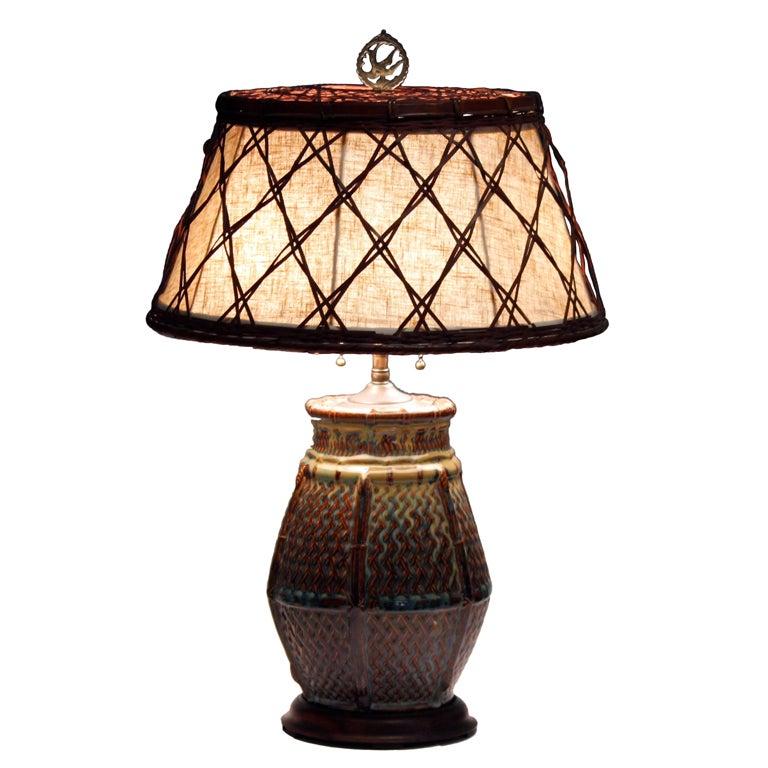 Woven Basket Lamp Shade : Xxx img g