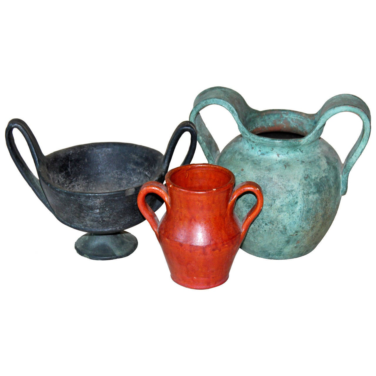 Collection vintage ancient greek style pottery vases at for Ancient greek pottery decoration
