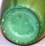 Huge Stangl Vase Rutile Green Glaze image 8