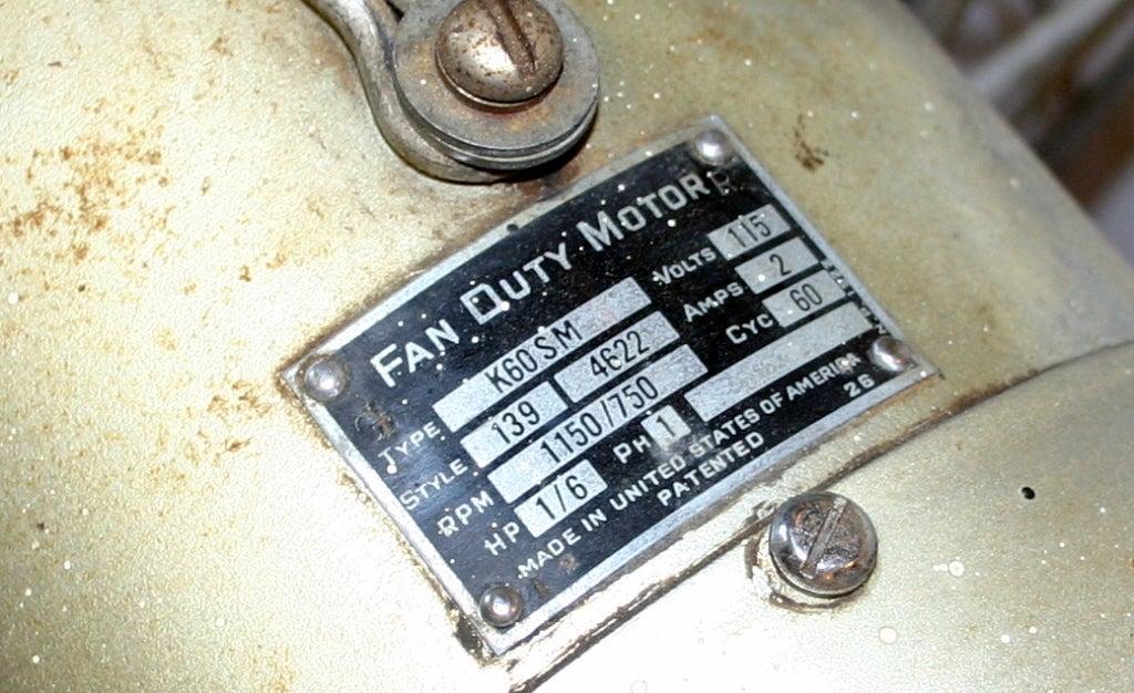 Vintage Industrial Duty Fan image 7