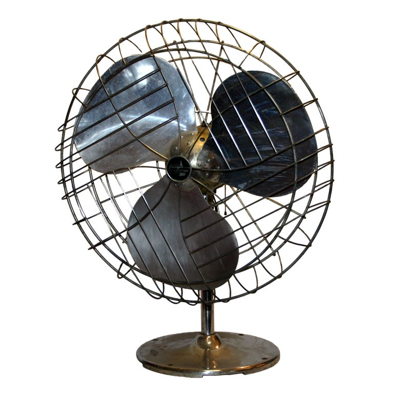 Vintage Industrial Duty Fan
