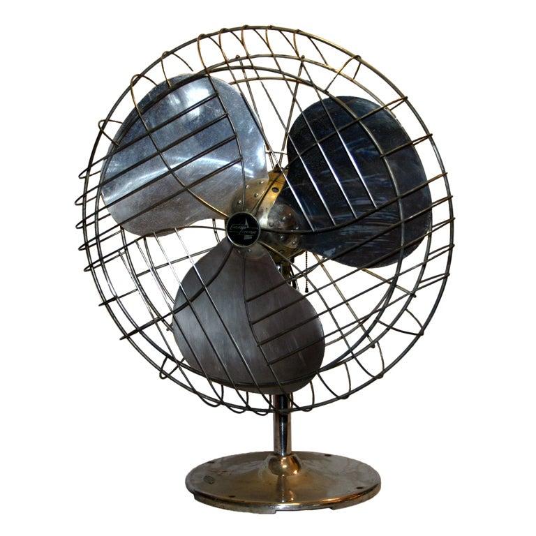 Vintage Industrial Duty Fan