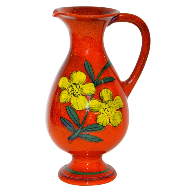 Vintage italian pitcher vase at 1stdibs for Retro italian xxx