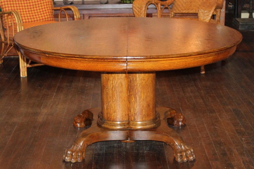 the best 28 images of antique oak pedestal dining table