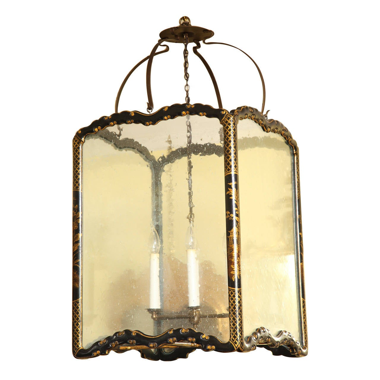 Large chinoiserie black lacquer rectangular hall lantern circa 1950 large chinoiserie black lacquer rectangular hall lantern circa 1950 for sale arubaitofo Choice Image