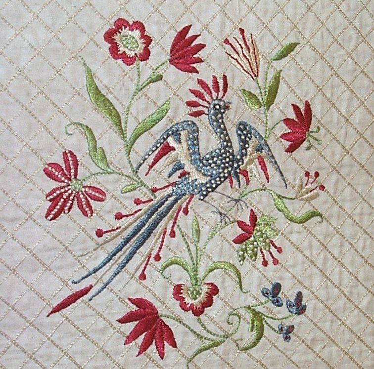 18th Century English Embroidery At 1stdibs