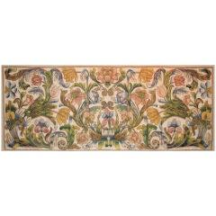 Silk Floss Embroidered Antependium