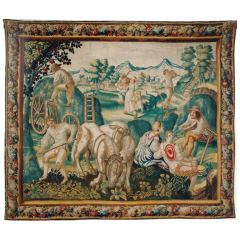 "Brussels tapestry ""Summer"" from a series of the four seasons"