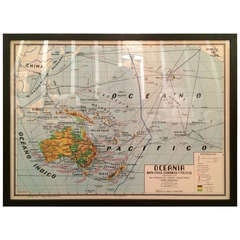 Oceania Map-Horizontal