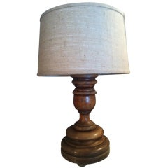 Large Wood Lamp