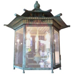 Hexagonal Treaty Port Lantern