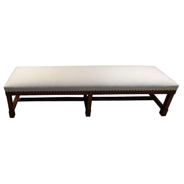 Large Mahogany  Benches 1