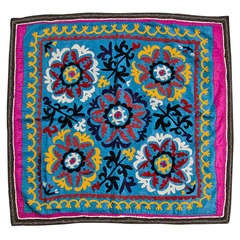 Embroidered Susani Throw