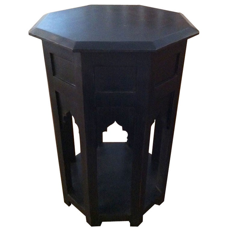 Octagon side table at stdibs
