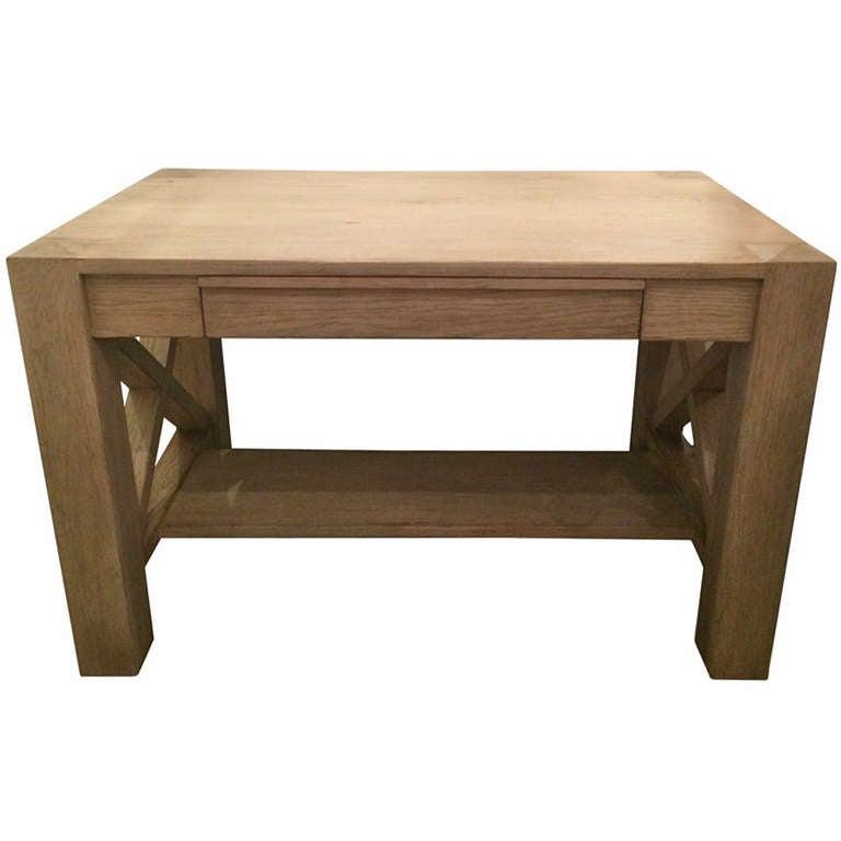 Handmade Wooden Desk For Sale At 1stdibs
