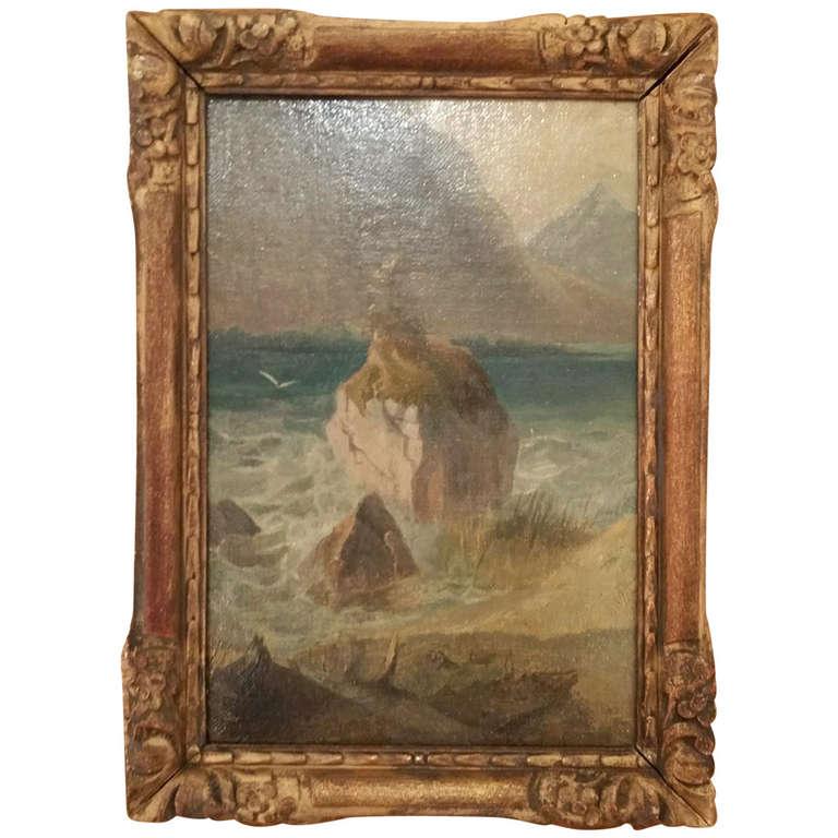 Sea Scape Oil on Canvas