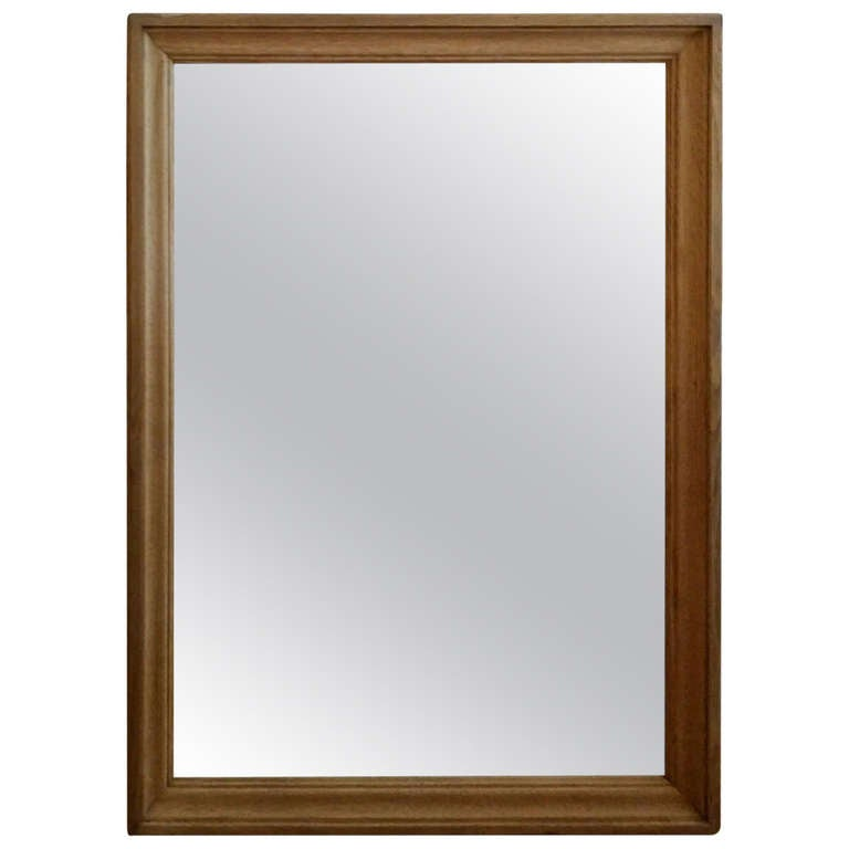 Wood Mirror from France