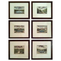 Six Copper Plate Engravings