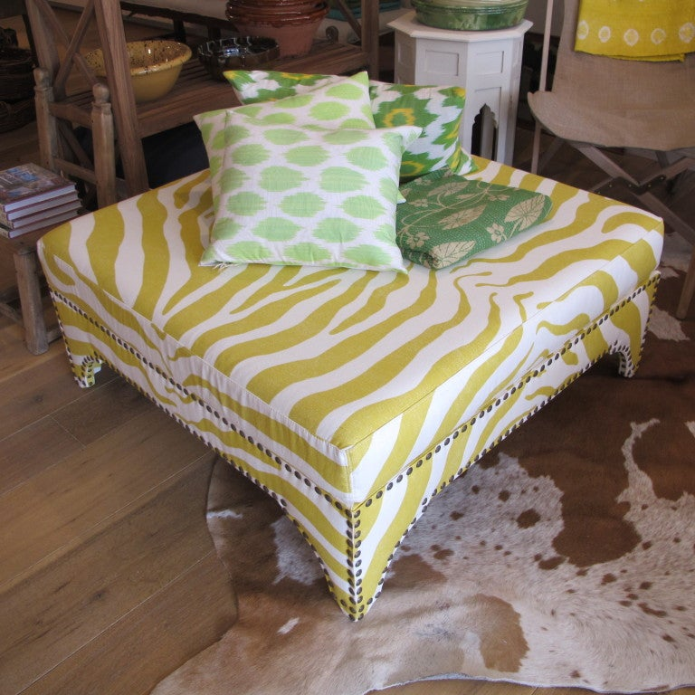 Large Candemir Ottoman At 1stdibs