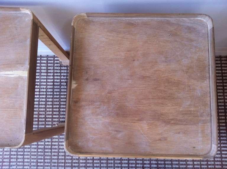 Vintage Wood Side Table 3