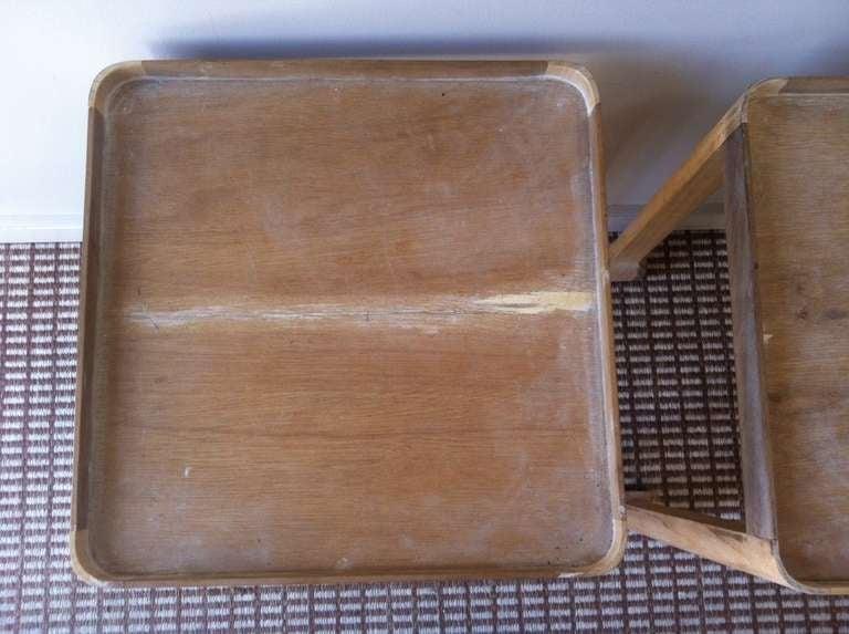 Vintage Wood Side Table 4