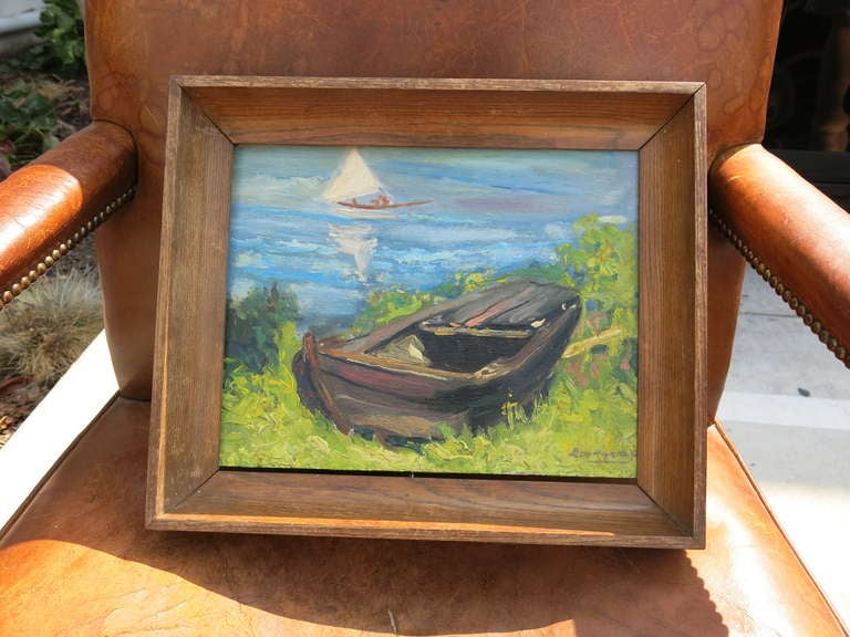 Painting of a Boat 2