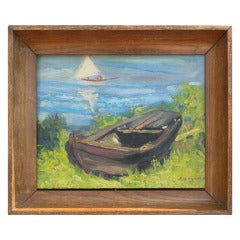 Painting of a Boat