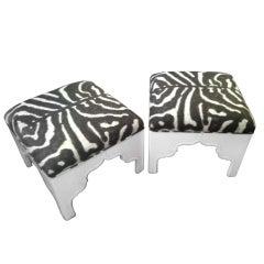 Custom Upholstered Fez Ottoman