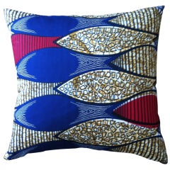 African Textile Pillow