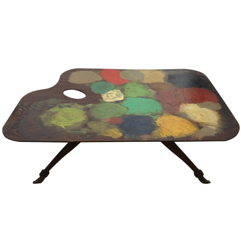 Painters Table at 1stDibs