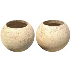 Pair of Ceramic Pots