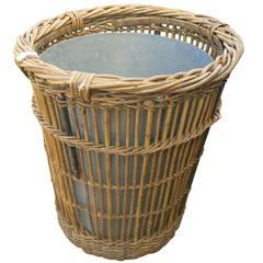 Wicker Tree Basket