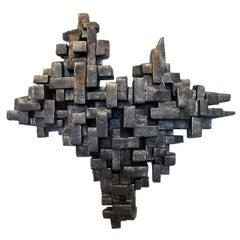 """Crustacea I"" Wall Sculpture by Dan Schneiger"