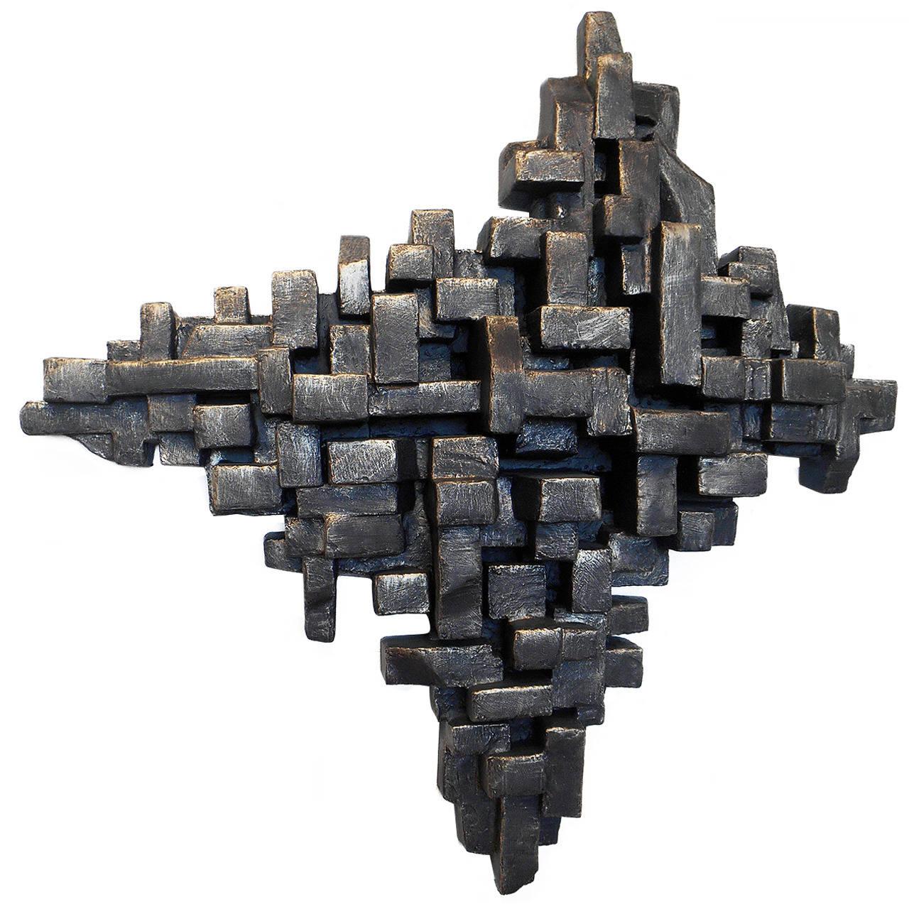 """""""Crustacea II"""" Wall Sculpture by Dan Schneiger"""