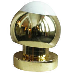 1970s Brass Eyeball Lamp