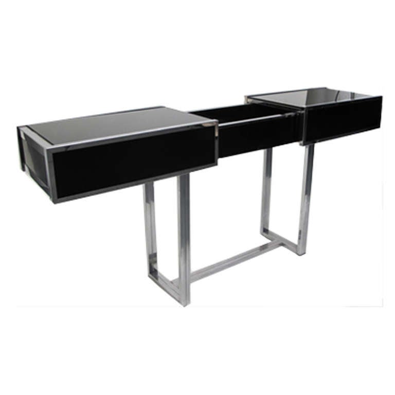 Expandable Console Table Bar At 1stdibs