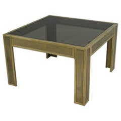 Cast Bronze Side Table