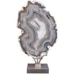 Vintage Agate Sculpture