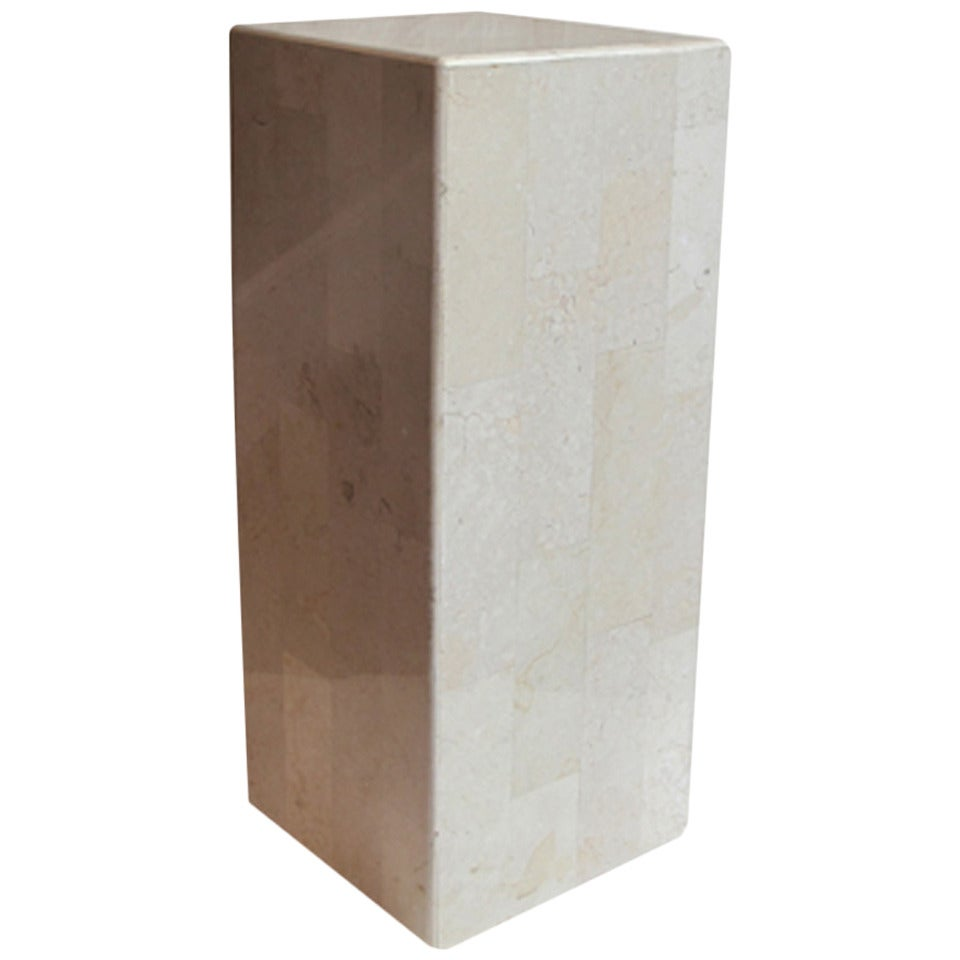 This 1970s Small Marble Veneer Pedestal is no longer available.