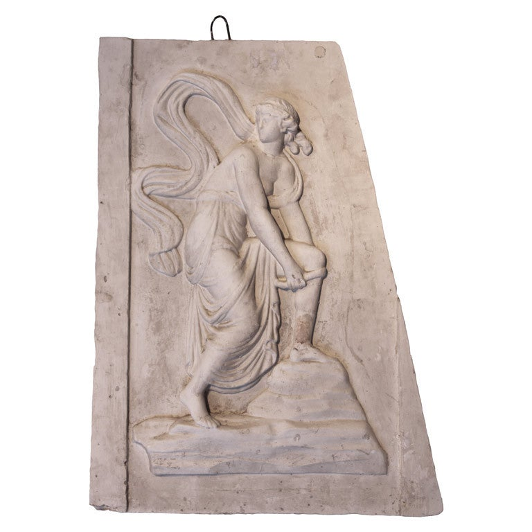 Antique Plaster Relief At 1stdibs