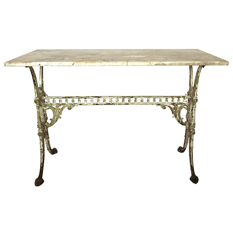 Marble Baker 39 S Table At 1stdibs