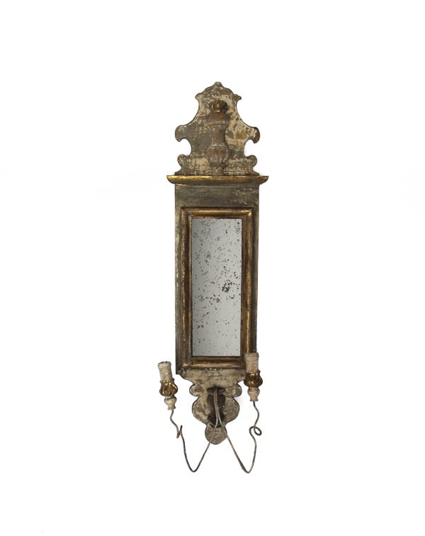 Candle Wall Sconces Antique : Antique Candle Sconce at 1stdibs