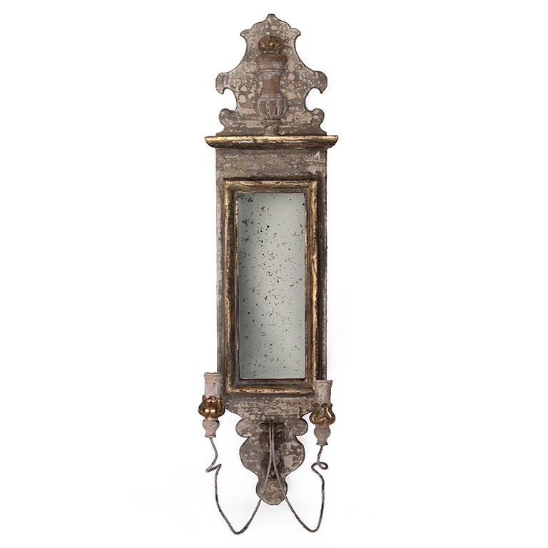 Antique Wall Candle Lights : Antique Candle Sconce at 1stdibs