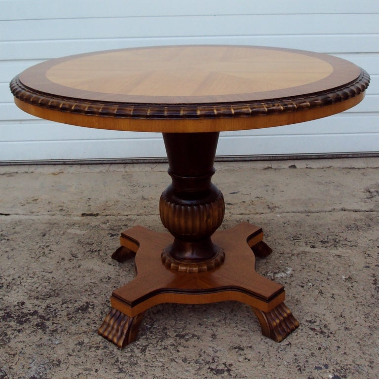 Swedish Art Deco Round Pedestal End Table For Sale At 1stdibs. Square Recessed Lighting. Fairy White Quartz. Beach Dresser. Chair Rail Ideas. Stripe Wallpaper. Sliding Room Dividers. What Color Is Beige. Bistro Tables And Chairs