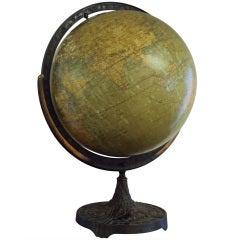 Vintage Large Mid-Century 16 Inch Denoyer-Geppert Co Lecture Platform Globe