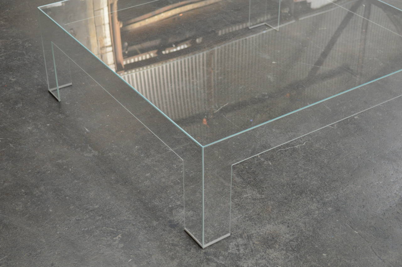 Modern square lucite ghost coffee table at 1stdibs Ghost coffee table