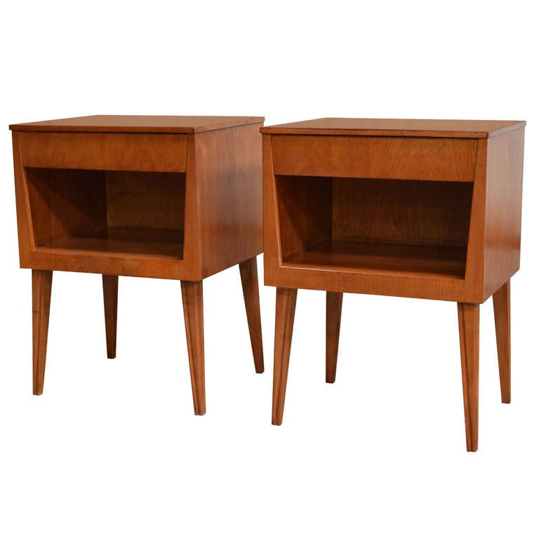 Mid Century Modern Nightstands Related Keywords & Suggestions - Mid ...